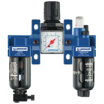 Filtre régulateur lubrificateur 3 blocs PREVOST TTSM1