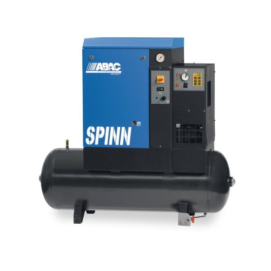 Compresseur ABAC SPINN 5.5E 8 TRI DD 270 EP avec réservoir horizontal 270L et sécheur 4152054972