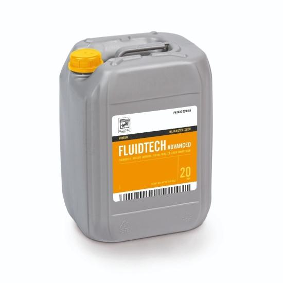FLUIDTECH - Huile minérale pour compresseur à VIS - 20L 6215716000